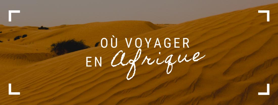 Où voyager en Afrique COVID-19