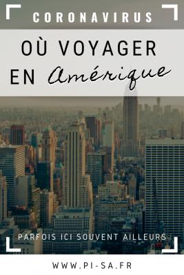 _Où voyager en Amérique Pinterest COVID-19